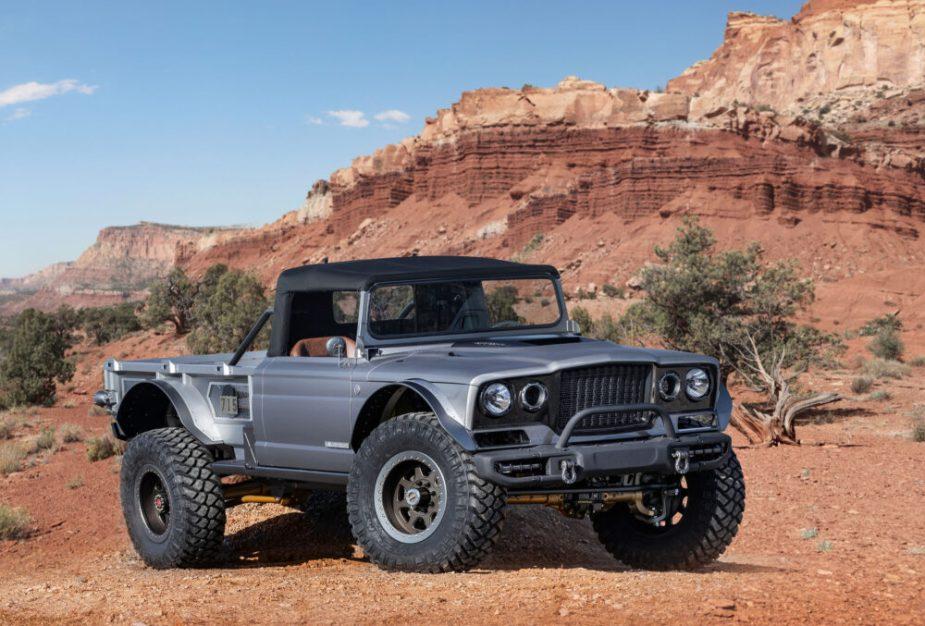 Jeep M-715 Five-quarter Gladiator - 2019 Easter Jeep Safari, Moab, Utah