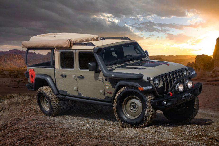 Jeep Wayout Concept - 2019 Easter Jeep Safari, Moab, Utah