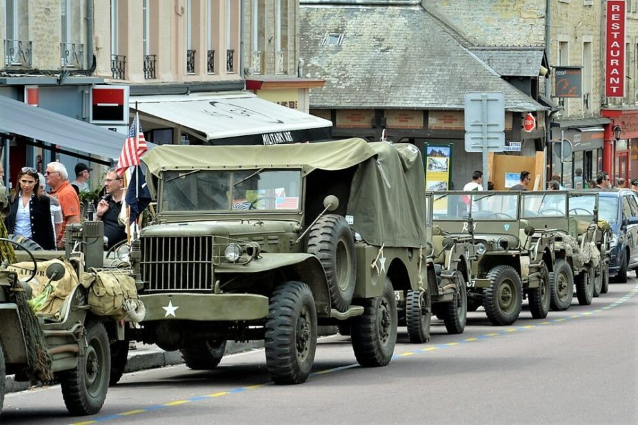 D-Day Jeeps