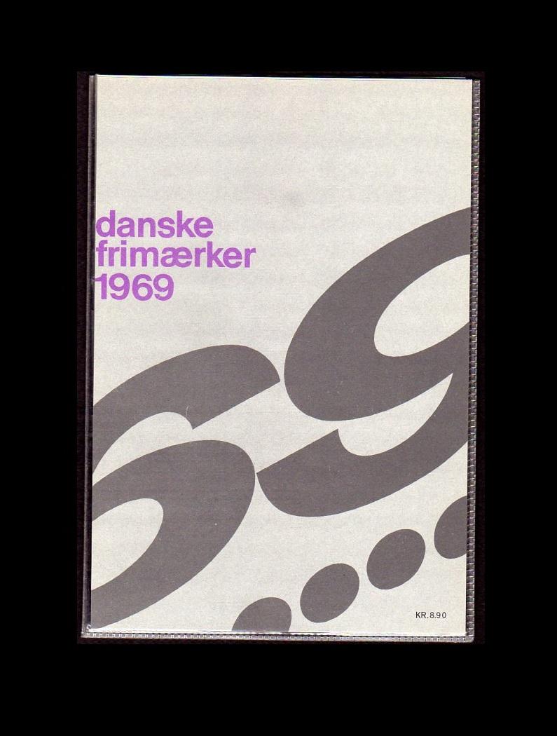 Danmark Årsmappe 1969 postfrisk