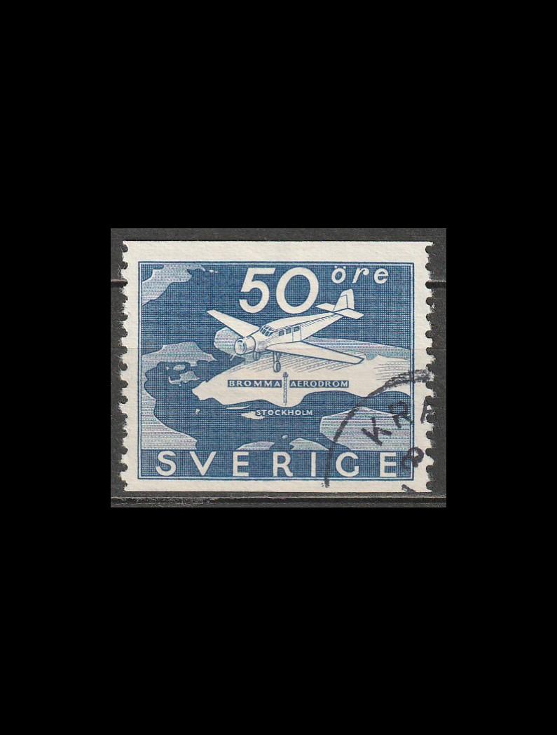 Sverige AFA 243 stemplet