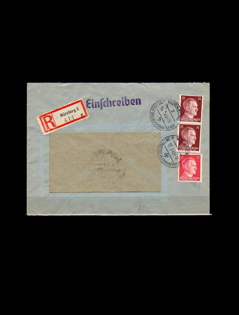 Tyske Rige R. brev 1943