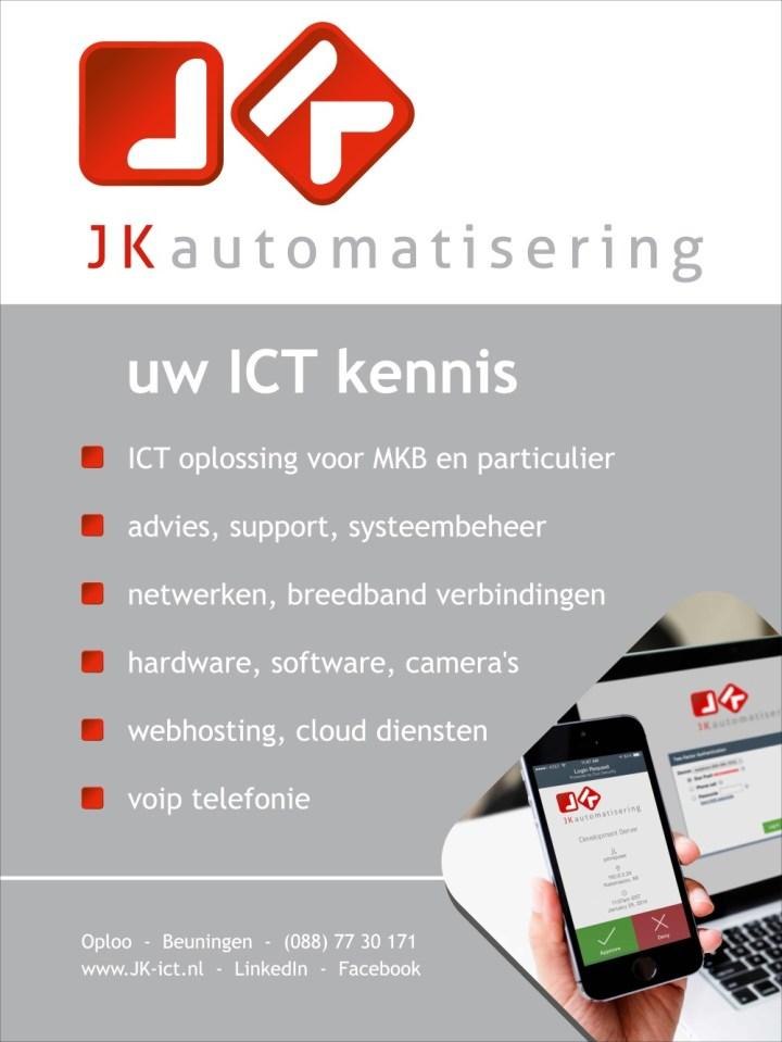 """JK automatisering, uw ICT kennis!"""""""