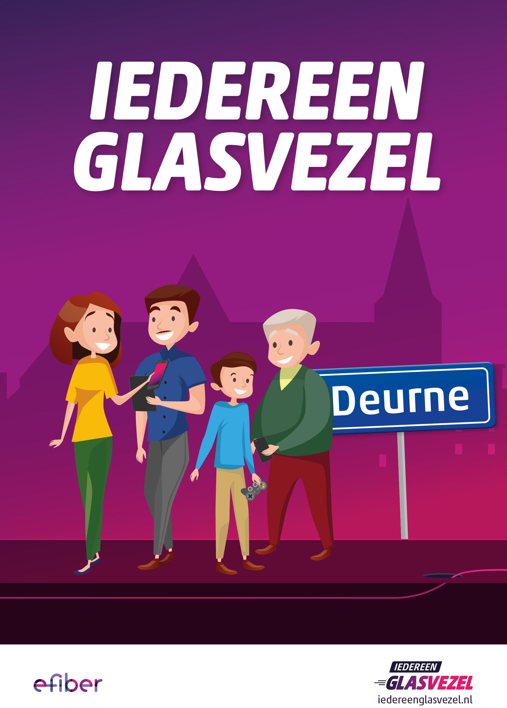 Iedereen Glasvezel gemeente Deurne