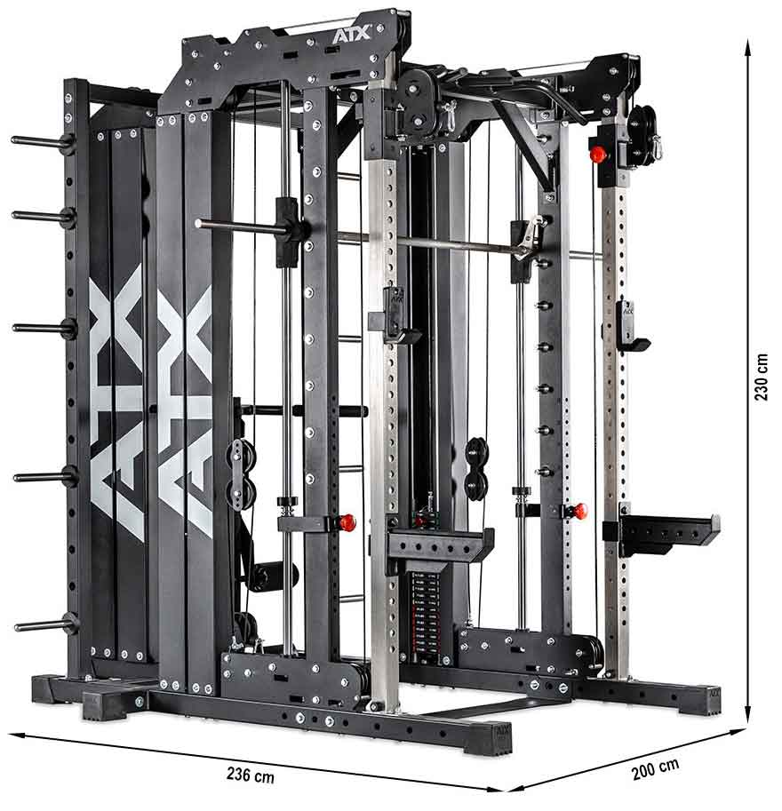 atx smith cable rack 760 komplettset stack weight