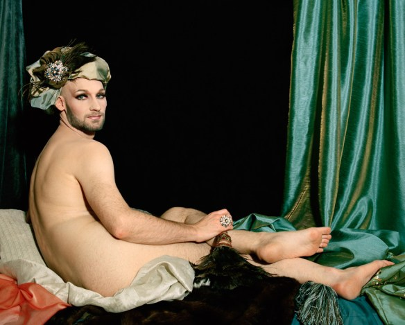 Odalisque [After Ingres], 2009