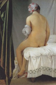 The Valpinçon Bather (1806), by Jean Auguste Dominique Ingres