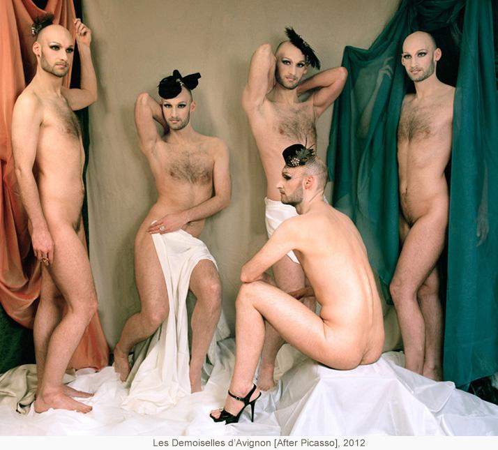 Les Demoiselles d'Avignon [After Picasso], 2012