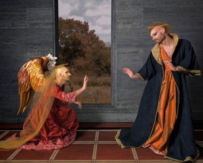 Annunciation (after Botticelli), 2015