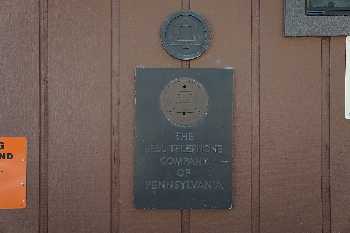 The Bell Telephone Company of Pennsylvania sign