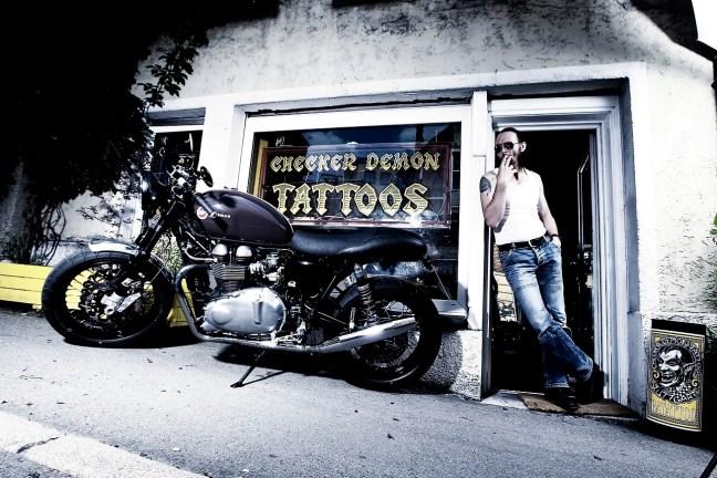LSL Triumph Thruxton Clubmann