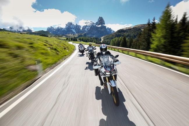 Aprilia Caponord 1200 Rally, Ducati Multistrada 1200 Enduro, Triumph Tiger Explorer XR, Alpenmaster 2016, MRD, Dolomiten, Italien