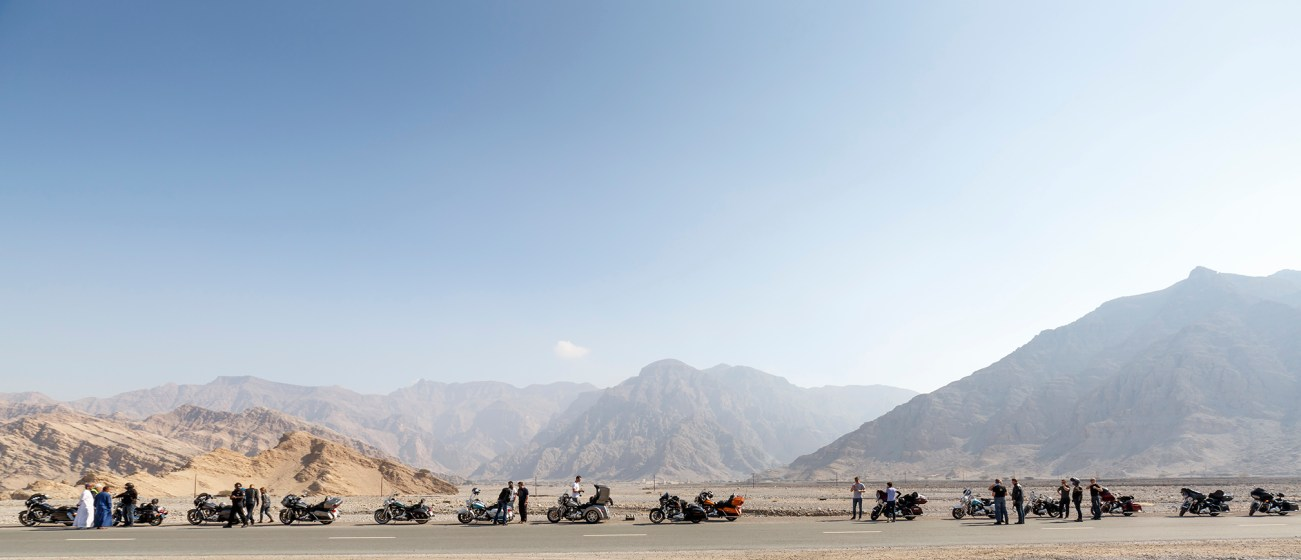 Harley-Davidson Touring Press Event vom 14.02. - 18.02.2016, Oman und UAE (Dubai)
