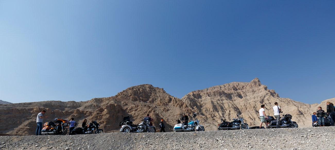 Harley-Davidson Touring Press Event vom 14.02. - 18.02.2016, Oman und UAE (Dubai)