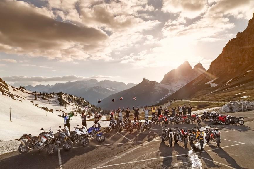 Gruppenbilder, Alpenmaster 2014, Dolomiten, Italien
