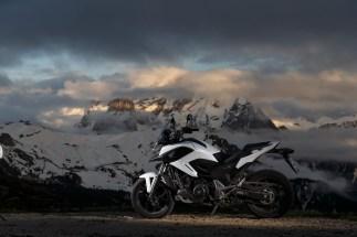 Honda NC 750 X, Alpenmaster 2014, Dolomiten, Italien
