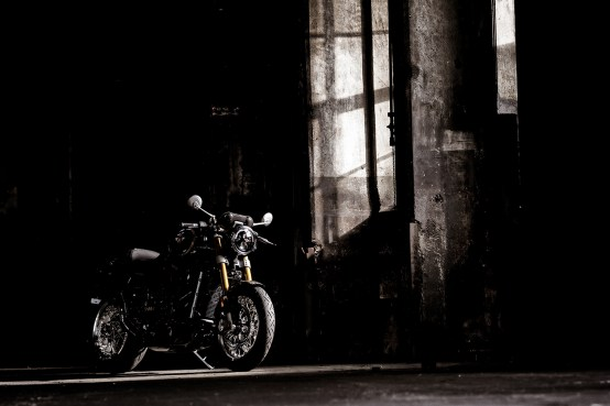 Horex VR6 Classic und Cafe Racer, Henning Areal
