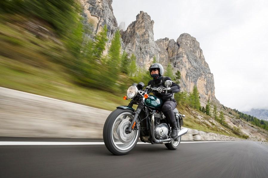 Triumph Thruxton, Alpenmaster 2016, MRD, Dolomiten, Italien