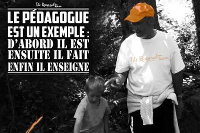 Audes, France; Ballade éducative au Milobre.