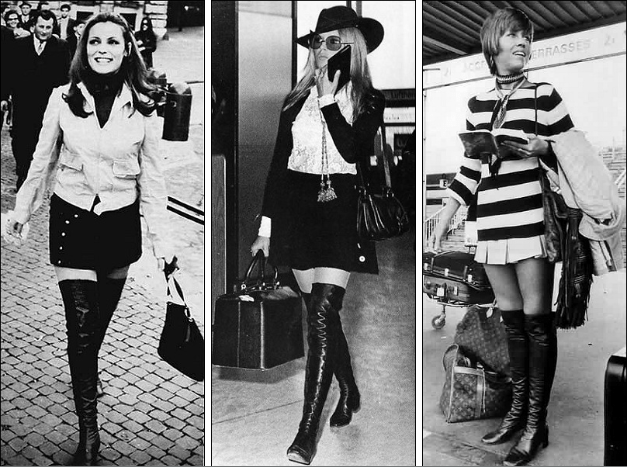 60 s fashion trends then and now