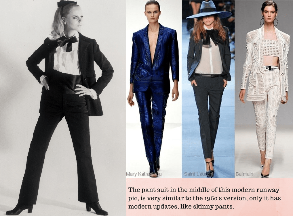 60 39 S Fashion Trends Then And Now