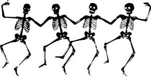 Halloween-Clipart-Black-And-White-Skeleton