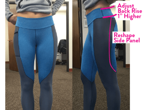 Legging Fit Notes