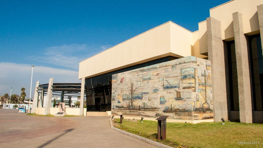 El mural terminado e instalado en CEARTE