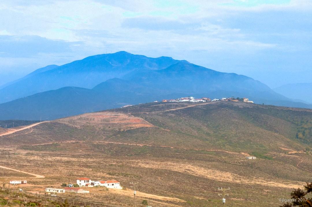 Las colinas de Punta Banda