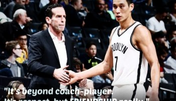 "Jeremy Lin and Kenny Atkinson  ""Special Bond of Friendship"" 8306b3b27"
