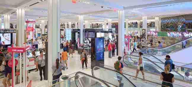 Department stores reinvent themselves for a new age