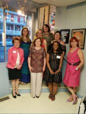 Photo of authors at Girls' Night Out event