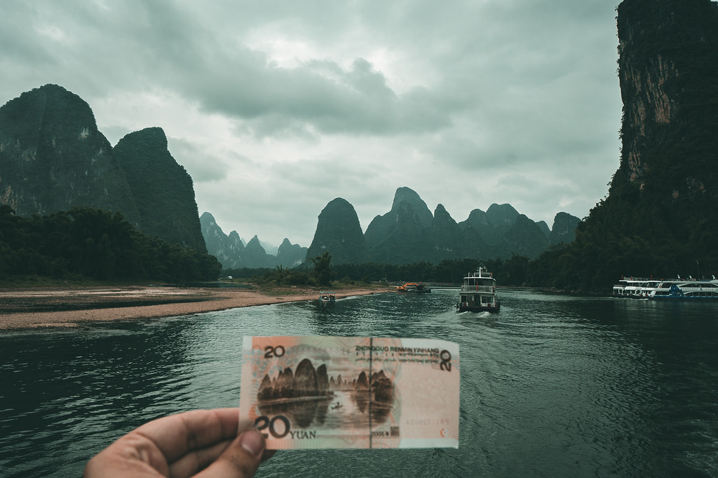 Guilin - Paisaje Río Li