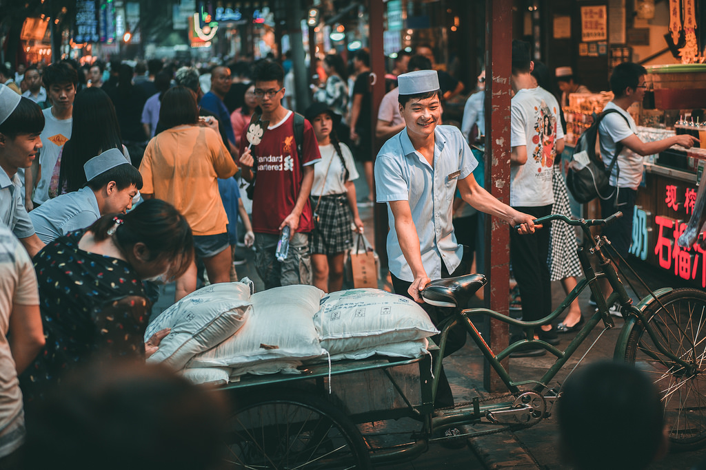 Xian - Barrio  Musulmán