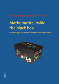 Mathematics inside the black box, bedömning för lärande i matematikklassrummet, Jeremy Hodgen & Dylan Williams