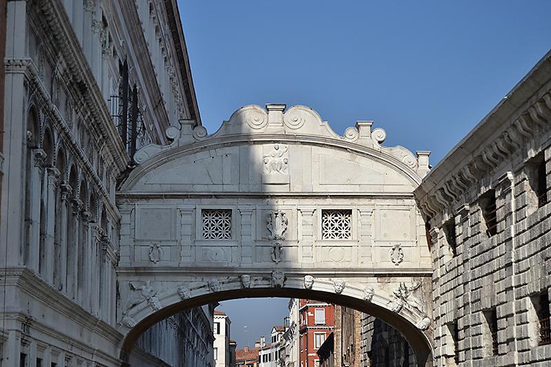 Palacio Ducal de Venecia, puente de los suspiros