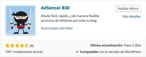 adsensei adsense wordpress