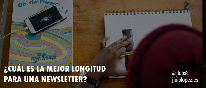 mejor longitud newsletter