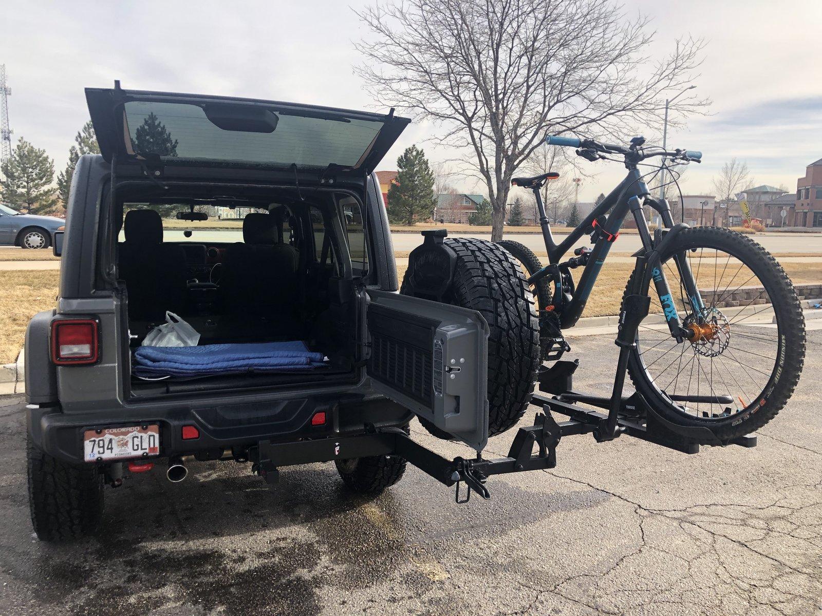 bike rack options 2018 jeep