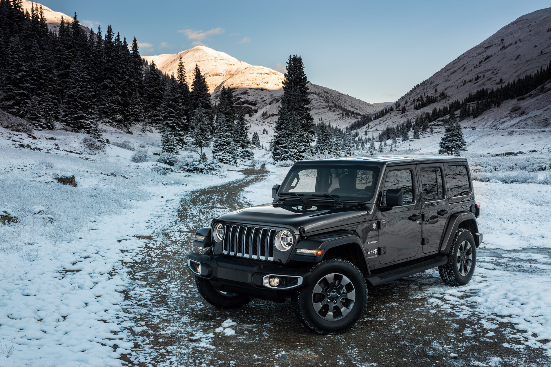 GRANITE CRYSTAL METALLIC Wrangler JL Club 2018 Jeep