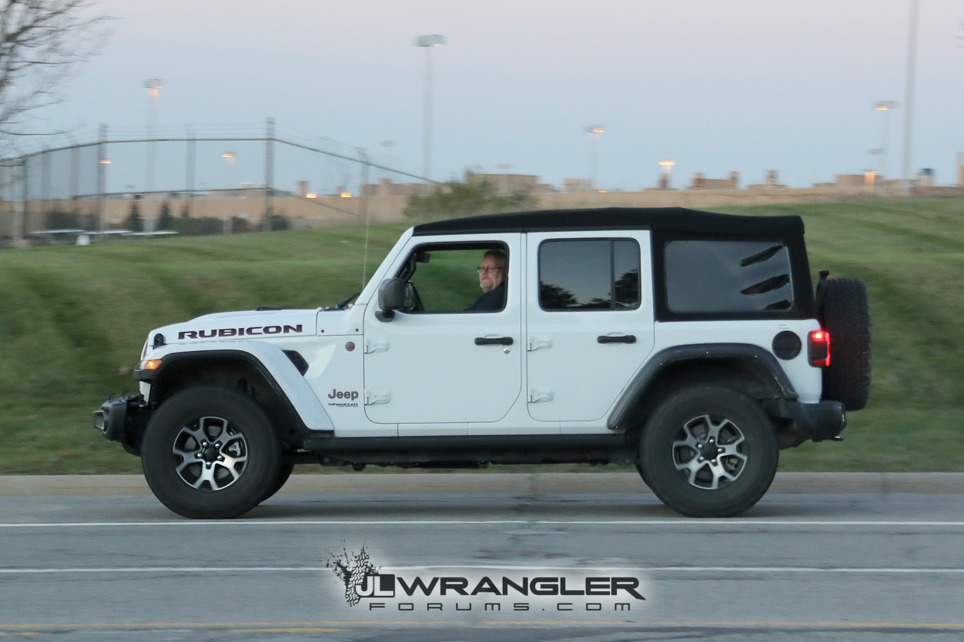 Rubicon Sahara Sport And Overland JL Wranglers Spotted