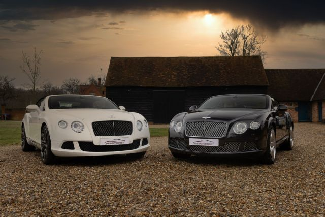 His and Hers Bentley Continental