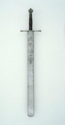 Espada de verdugo inglesa