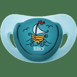 Chupeta Lillo Elegancy Ortodôntica Silicone Azul nº 1