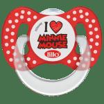 Chupeta Lillo Funny Disney Ortodôntica Silicone Minnie nº 1