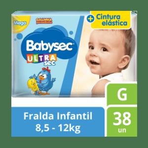 Fralda Babysec Galinha Pintadinha Mega - Tamanho G