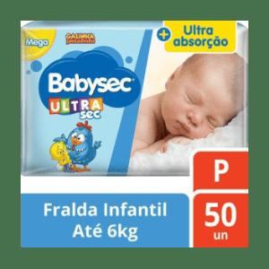 Fralda Babysec Galinha Pintadinha Mega