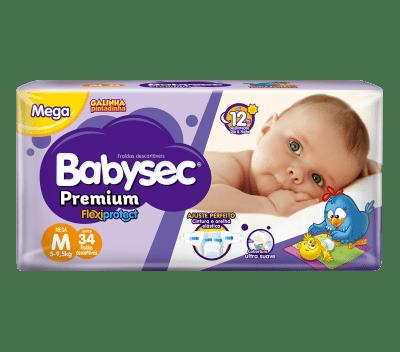 Fralda Babysec Premium Galinha Pintadinha Mega