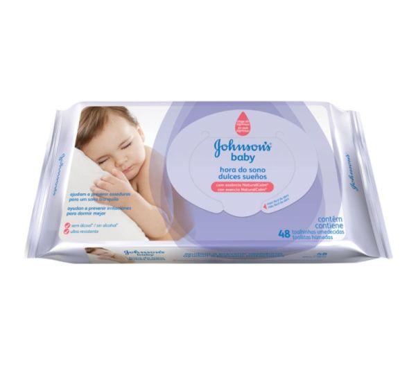 Lenço Umedecido Johnson's Baby Hora do Sono