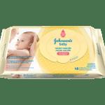 Lenço Umedecido Johnson's Baby Recém Nascido